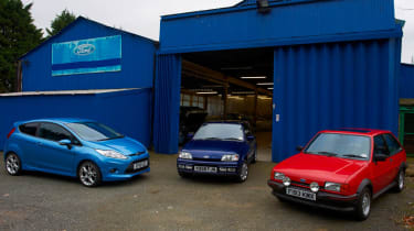 Ford Fiesta XR2, XR2i and Zetec S Mountune
