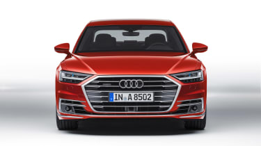All-new Audi A8 - red front