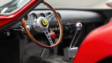 Ferrari 250 GTO – interior