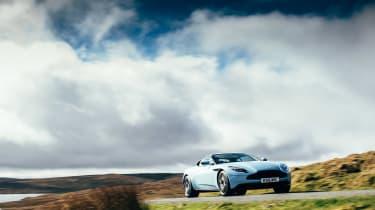 Aston Martin DB11 & Vanquish S - driving
