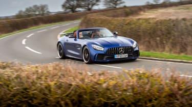 Mercedes-AMG GT R Roadster - 2021 cornering