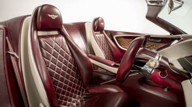 Bentley EXP12 Speed 6e - Seats