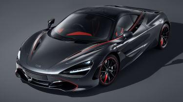 MSO McLaren 720S stealth front