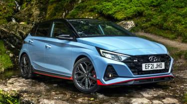 Hyundai i20n competition car