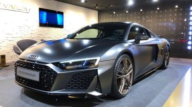 Audi R8 Decennium live - front quarter