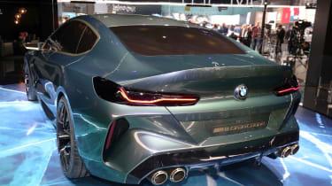 BMW M8 Concept - show rear