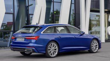 Audi A6 2018 Avant first drive - rear