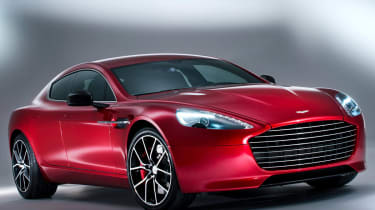 2013 Aston Martin Rapide S front view