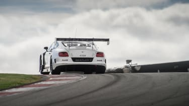 Bentley Continental GT3 rear wing
