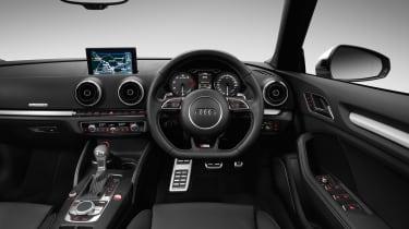 Audi S3 cabriolet quattro interior
