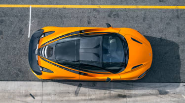 McLaren 720S track pack - top
