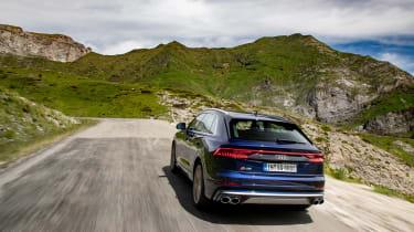 Audi SQ8 TDI review - rear quarter