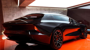 Aston Martin Lagonda Concept – rear quarter