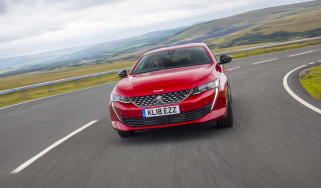 Peugeot 508 GT - tracking