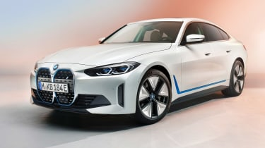 BMW i4 front