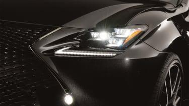 Lexus RC300h F Sport Black Edition – front detail
