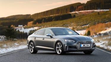Audi S5 Sportback front three quarters