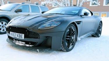 Aston Vanquish winter spy - front quarter