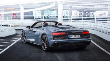 Audi R8 V10 Performance RWD – Spyder rear