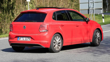 VW Polo spy rear2