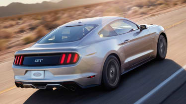 2014 Ford Mustang rear driving
