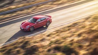 Porsche Panamera Turbo - Side