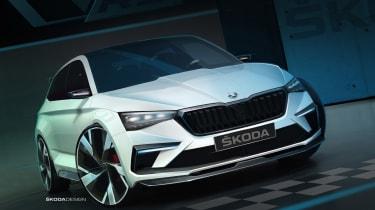 Skoda Vision RS front