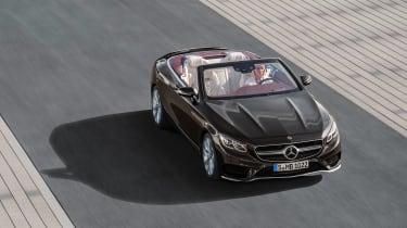 Mercedes S 560 cabriolet - topo