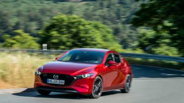 New Mazda 3 Skyactiv-X 2019 review corner