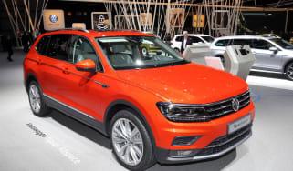 VW Tiguan Allspace - Geneva front three quarter