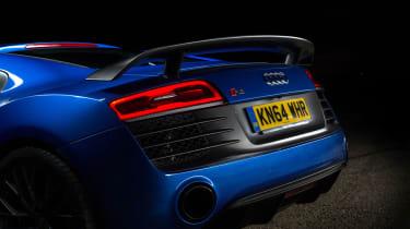 Audi R8 LMX night drive - exhaust