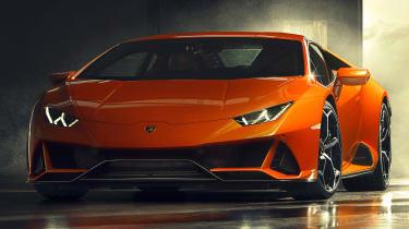 Lamborghini Huracan EVO front