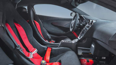 McLaren MSO X – interior