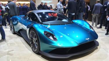 Aston Martin Vanquish Vision concept live - front quarter