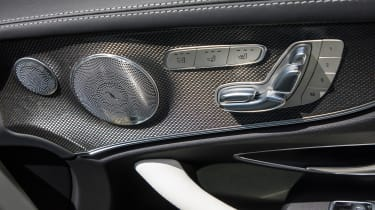 Mercedes-Benz E400 4Matic Cabriolet - Door speaker