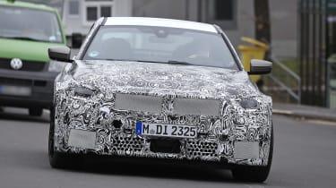 2022 BMW M2 spied road front