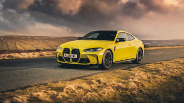 BMW M4 Competition 2021 review – static nose