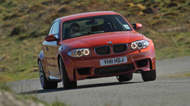 BMW 1M review sideways drift powerslide