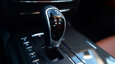 Maserati Ghibli S – gear lever