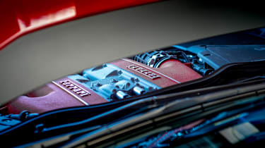 Ferrari 812 Superfast Anglesey - engine