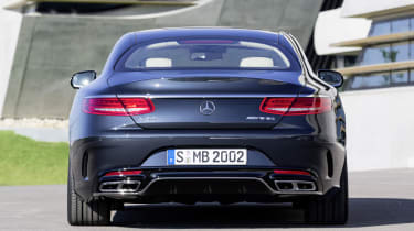 Mercedes S65 AMG Coupe rear