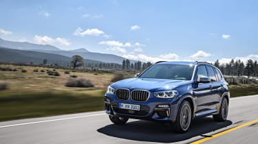 BMW X3 M40i - front driving