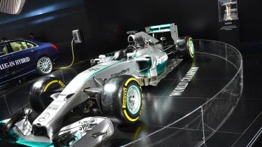 Mercedes-Benz W05 F1 car