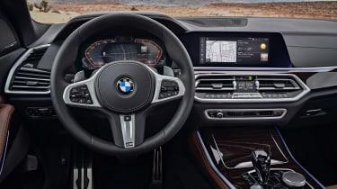 2018 BMW X5 - controls