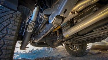 Ram 1500 TRX – underbody