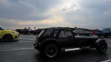 evo Trackday Bedford 27AUG - caterham