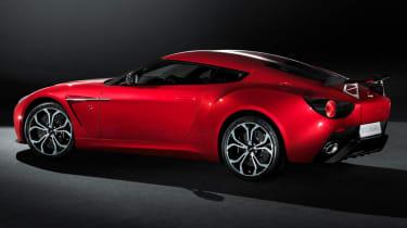 Aston Martin V12 Zagato rear