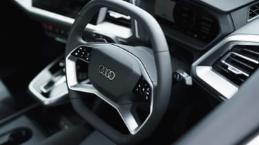 Audi Q4 e-tron 50 – steering wheel