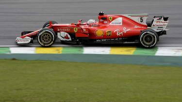 F1 Brazil - ferrari