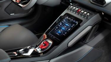 Lamborghini Huracan EVO silver - dash